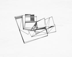 """Lines-26 (12x9"""")"""
