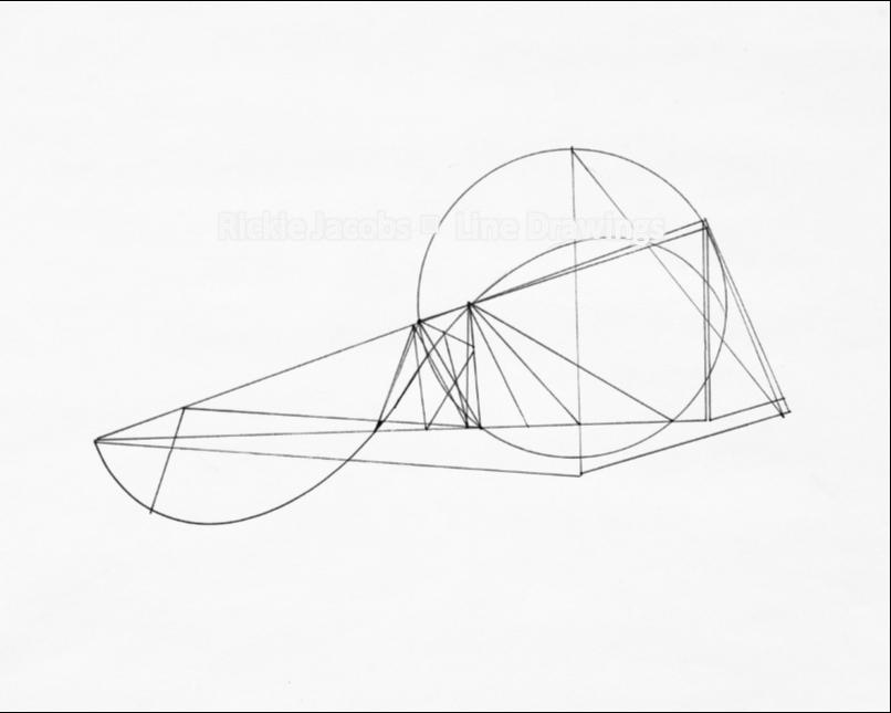 """Lines-02 (8.25x12"""")"""