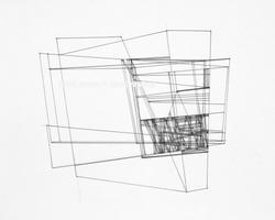 """Lines-23 (14x11"""")"""