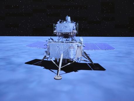 Çin'in Ay sondası ay örnekleriyle Dünya'ya dönmeye başladı