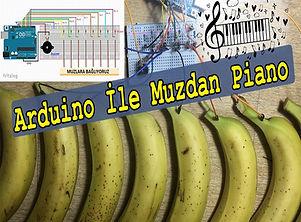 Arduino ile Muzdan Piano