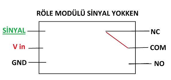 röle bağlantı şeması  röle bağlantısı