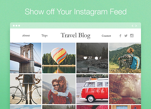 Instagram Feed Overview | WIX App Market | Wix com