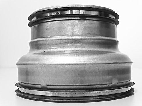 Reduktionen NW 100/80mm bis 280/250mm, verzinkt, mit SAFE-Lippendichtung