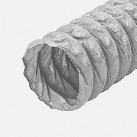 Kunststoffschlauch grau, 5-lagig, L=10m
