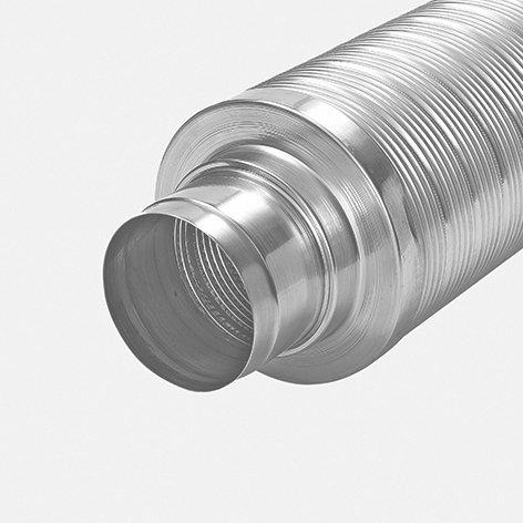 Telefonie-Schalldämpfer, 30mm isoliert, L=1m