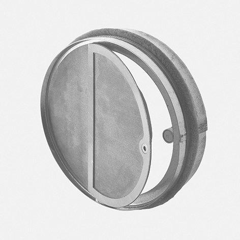 Kaltrauchsperre mit Magnetverschluss dicht
