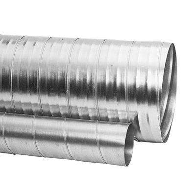 Spiralfalzrohre, 4404 CrNiSt V4A, SRC, L=3000mm