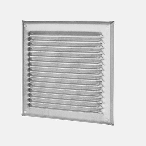 Wetterschutzgitter quadratisch, ohne Stutzen und Fliegengitter, Kupfer