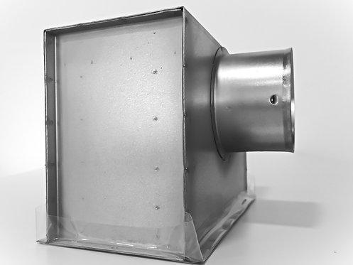 Deckenauslasskasten 200x100 Anschluss NW 75/90mm