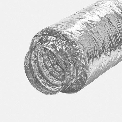 Flexibler Schalldämpfer, 50mm isoliert, L=1m