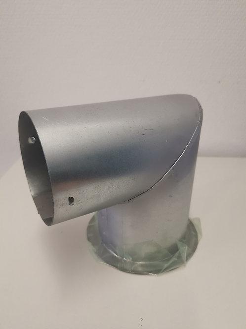 Schalungsknie, verzinkt, passend auf KSR-Schlauch