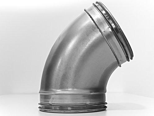 Bogen 60°, gepresst, verzinkt, mit SAFE-Lippendichtung
