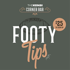 Kensington Hotel Footy Tips 2021