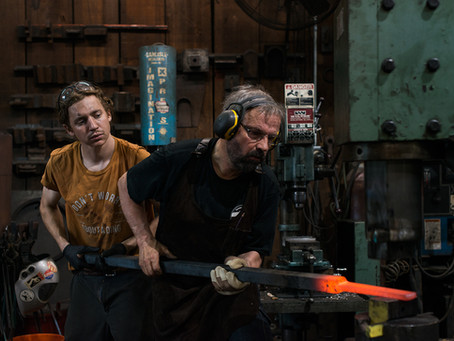 Forging on the River Prep with Christoph Friedrich