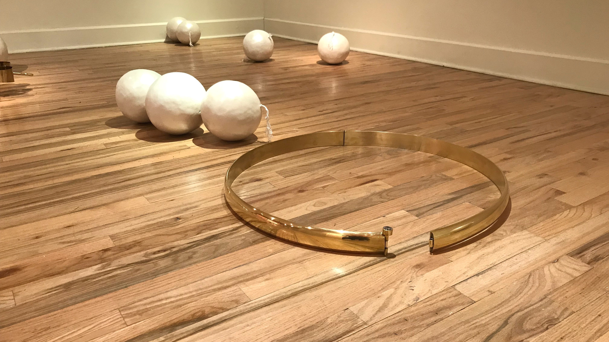 "Install: ""Master Metalsmith: Lisa Gralnick."" Image courtesy of the Metal Museum."