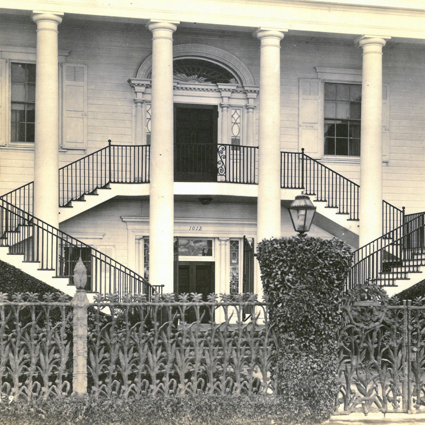 Colonial Revival 31st and Hoover St., Wilmington, CA  c. 1920s