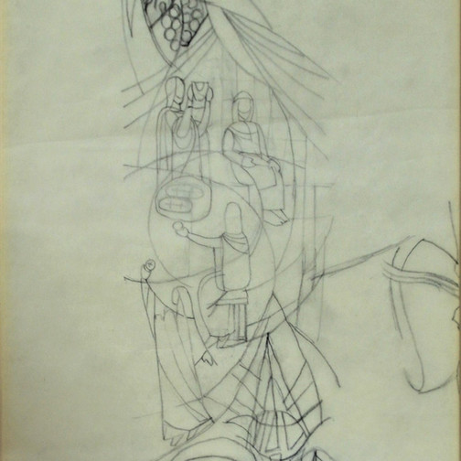 c. 1955-1988 Paper, graphite Donated by Paul Edelstein in Memory of Danny Cook and Emily Klyce Fisher 1995.1.2