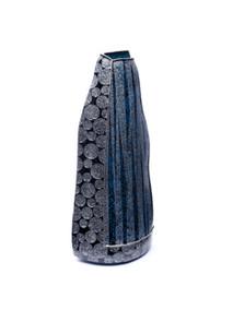 "Vase, ""Blue & Dewdrop 1"""