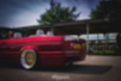BMW E30 Image wheels Tyre stretch