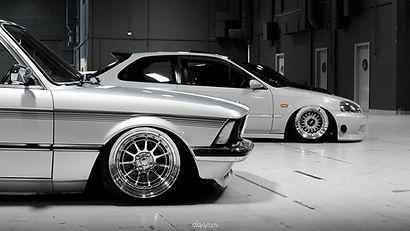 Dapper Bmw e21 and Honda - Specialist Tyres