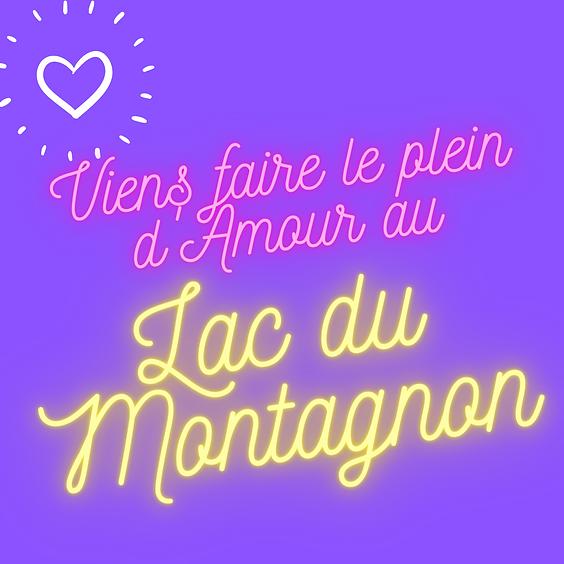Faire le plein d'amour au Lac du Montagnon devient Las Bardenas Reales