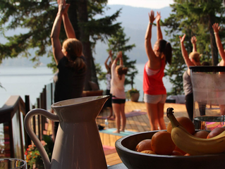 Crave Massage Yoga Retreat | Wine in the Woods