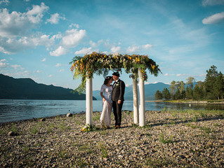 Intimate Lakeside Wedding At Kootenay Lake