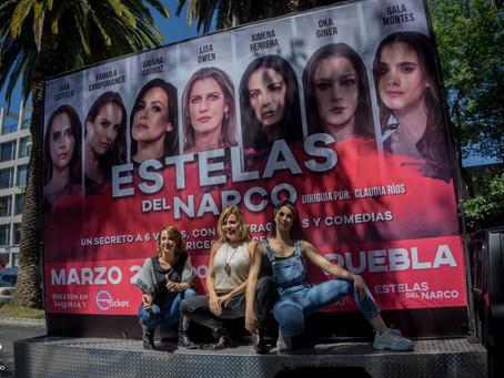Estelas del Narco una obra que no te puedes perder.