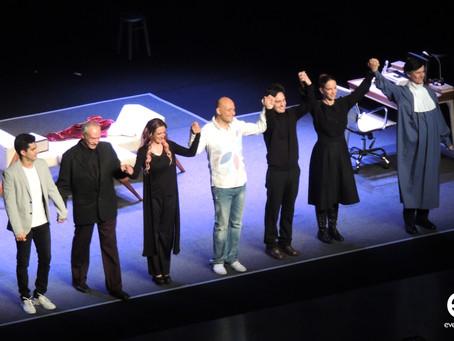Éxito rotundo de la nueva obra de teatro de Odin Dupeyron, Lucas.