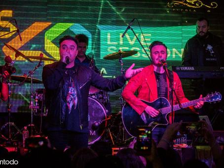 Rio Roma en el primer Live Sessions del año, los 40 Principales.