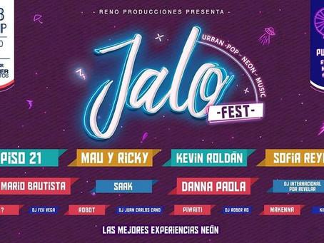 """Vive una noche urbana con """"Jalo Fest"""""""