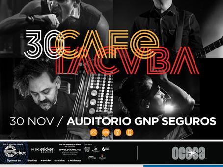 Café Tacvba festejará 30 años de carrera con tremendo y emotivo concierto en Puebla