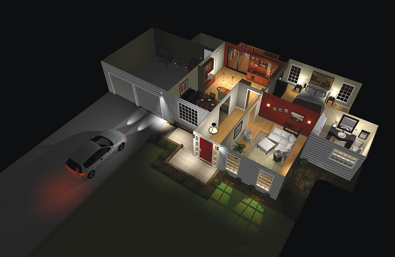 Okol Group Lutron Lighting Control Smart Home Automation NY NYC Manhattan Wi-Fi Ubiquiti WiFi shades URC Savant nest eero