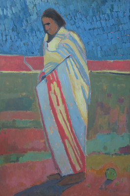 Blanketed Indian