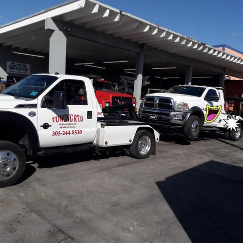 Gruas Miami - Servicio De grua - Towing Service - Towing R'Us