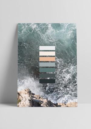 Color Postcard
