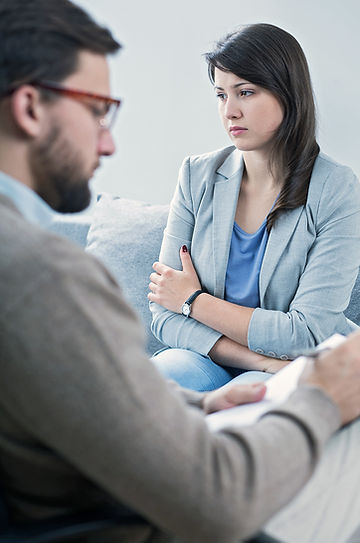 Abuse by a therapist or other authority