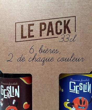 Le Pack •6 bières 33cl