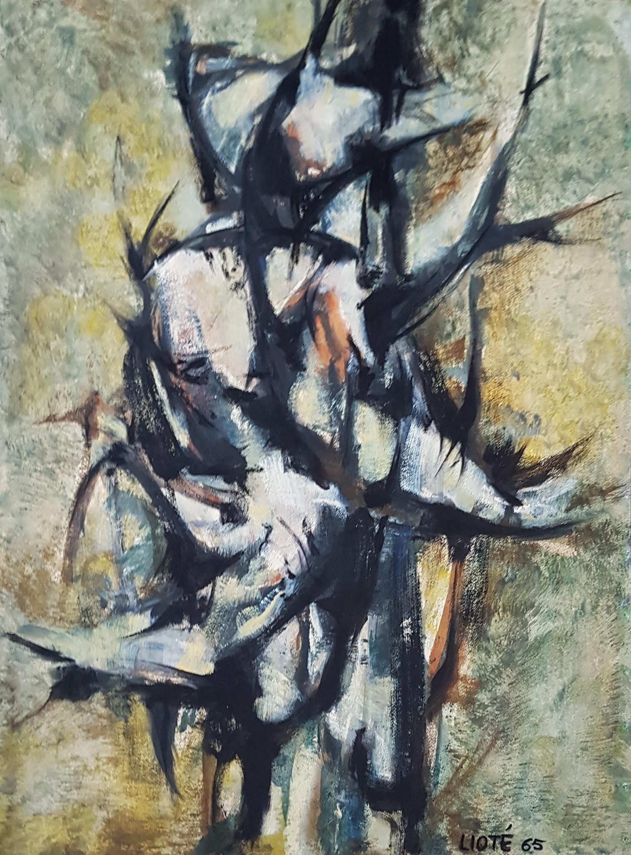 Huile sur toile - 1965 - 75 x 54,5 - N°6