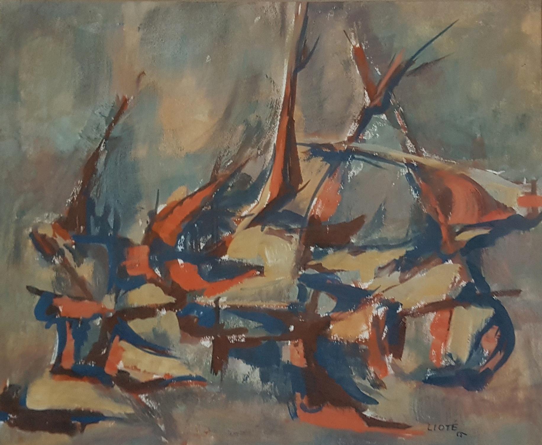 Huile sur toile - 1965 - 35 x 44 - N°621