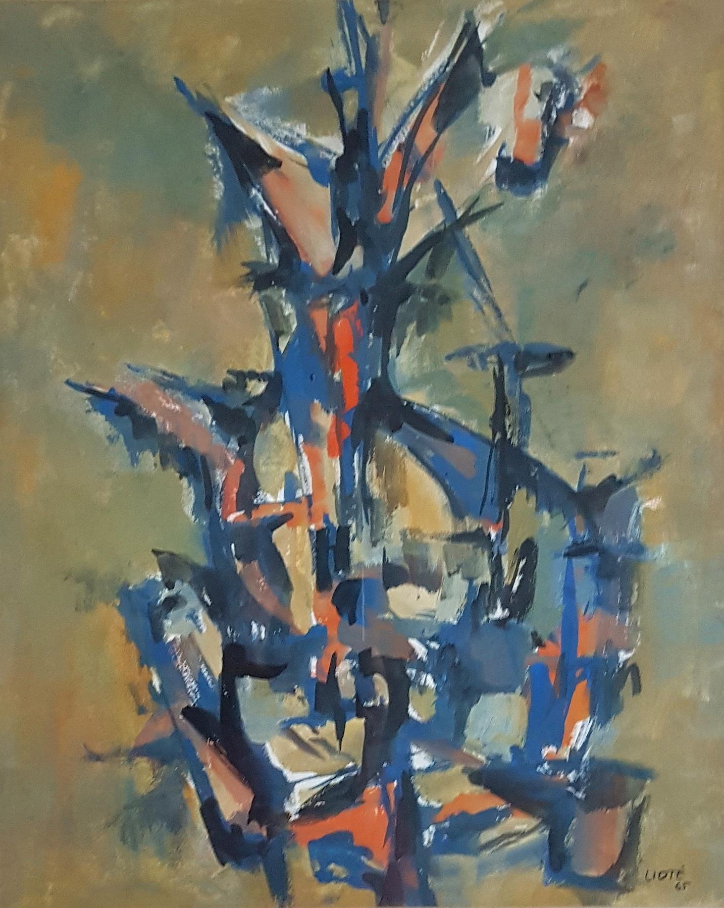 Huile sur toile - 1965 - 44 x 35,5 - N°6
