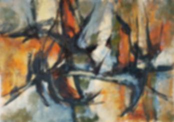 Huile sur toile - 1966 - 37 x 53 - N°604