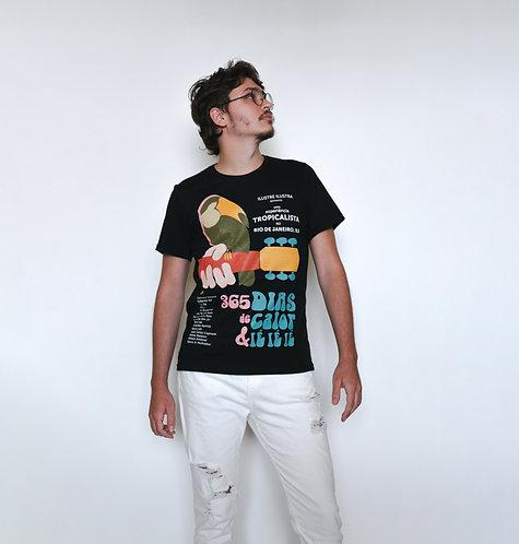 T-Shirt Cartaz (Preta)