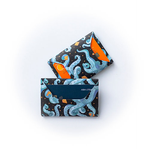 ABA Carteira  - Cream Kraken