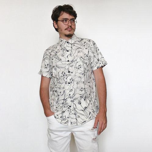 Camisa Linho Musicaótica