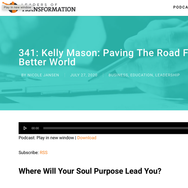 Leaders of Transformation Podcast