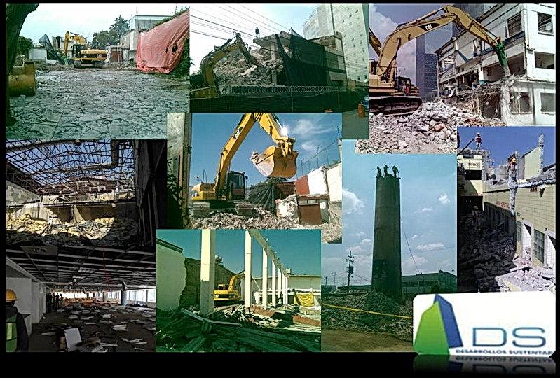 Empresas de demolicion, Demoliciones DS