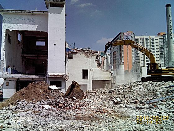 Presupuesto de Demolicion, Demoliciones