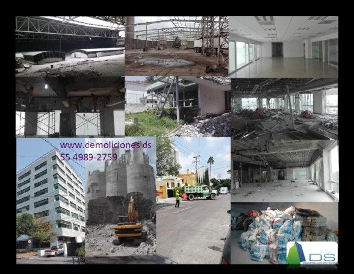 Demoliciones CDMX, Demoliciones, Demolicion